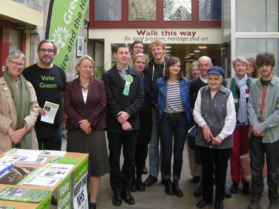 Natalie Bennett and Richmond Constituency Green Party
